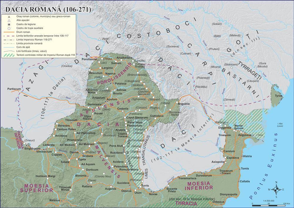 Dacia romana – 106-271