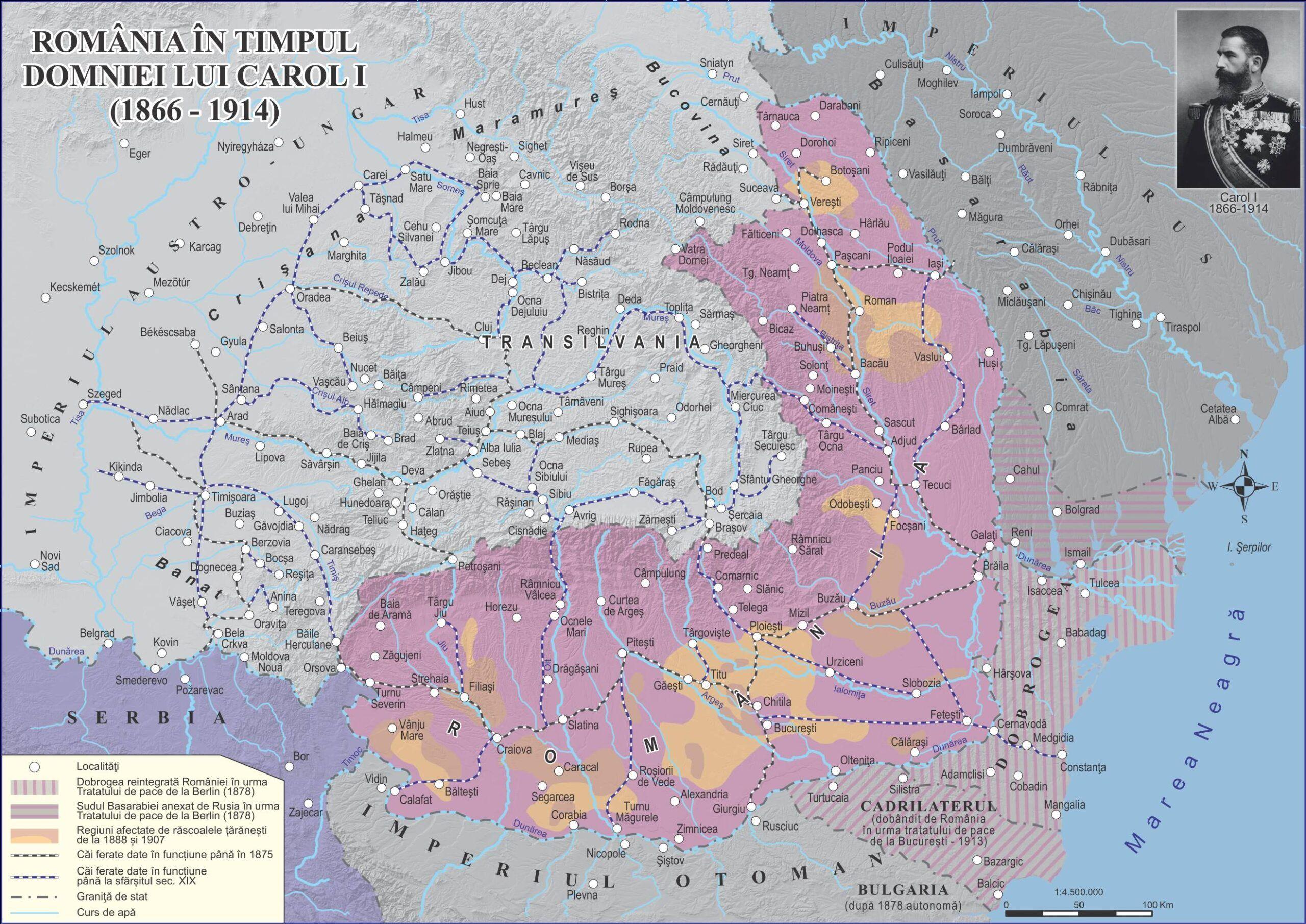 România în timpul domniei lui Carol I (1866-1914)