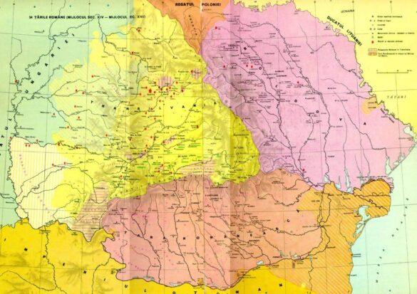 Țara Românească în timpul lui Mircea cel Bătrân, fără Dobrogea