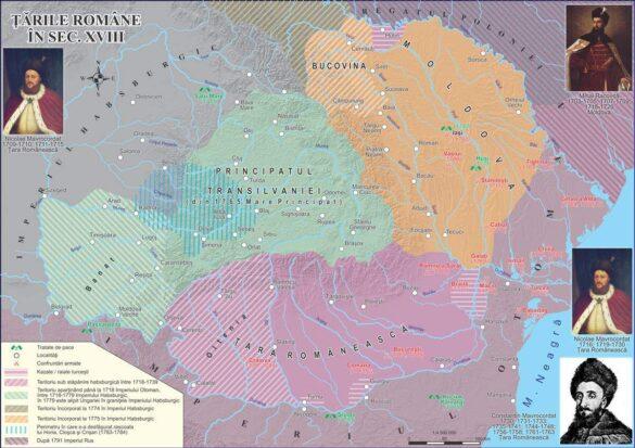Țările Române în secolul XVIII
