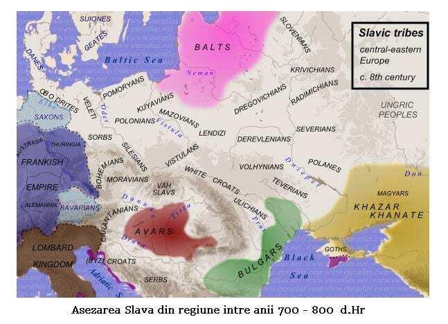 Migrația slavilor în secolele VII-VIII