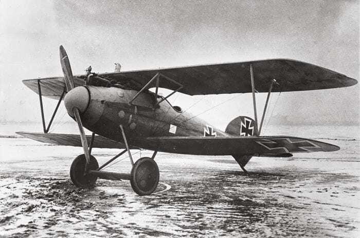 Avion german Albatros