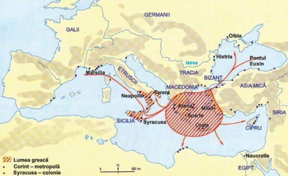 Colonii grecești