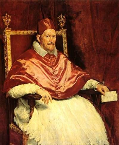 Diego Velazquez - Portretul papei Inocențiu al X-lea