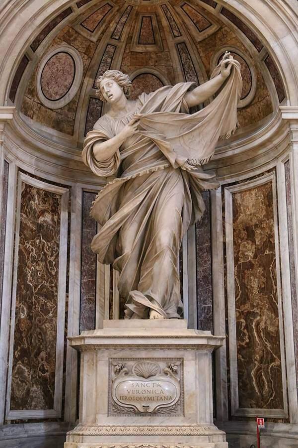 Francesco Mochi – Sfânta Veronica