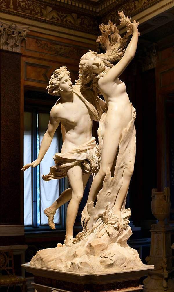Gian Lorenzo Bernini – Apollo și Daphne