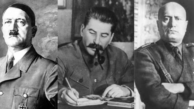 Hitler, Stalin și Mussolini