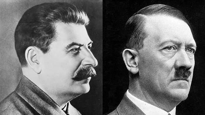 Adolf Hitler și Iosif Vissarionovici Stalin