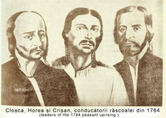 Cloșca, Horea și Crișan