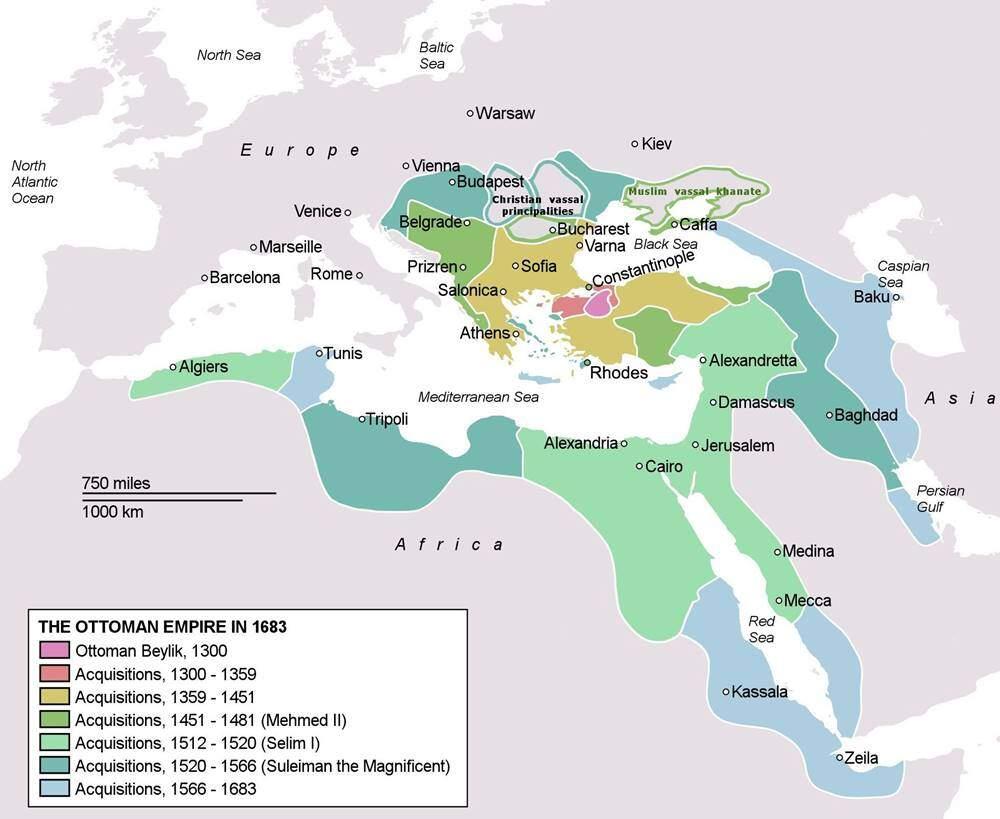 Imperiul Otoman la apogeu