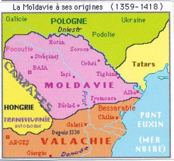 Întemeierea Moldovei