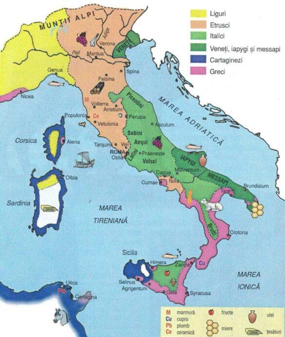 Peninsula Italică în Antichitate