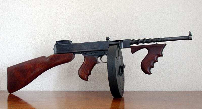 Pistol-mitralieră Campbell Thompson