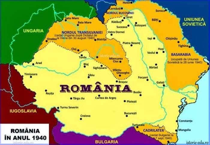 România în 1940