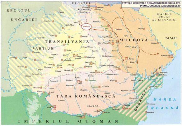 Statele medievale românești în secolul XIV – prima jumătate a secolului XV