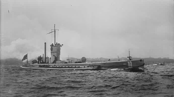 Submarin german U-10