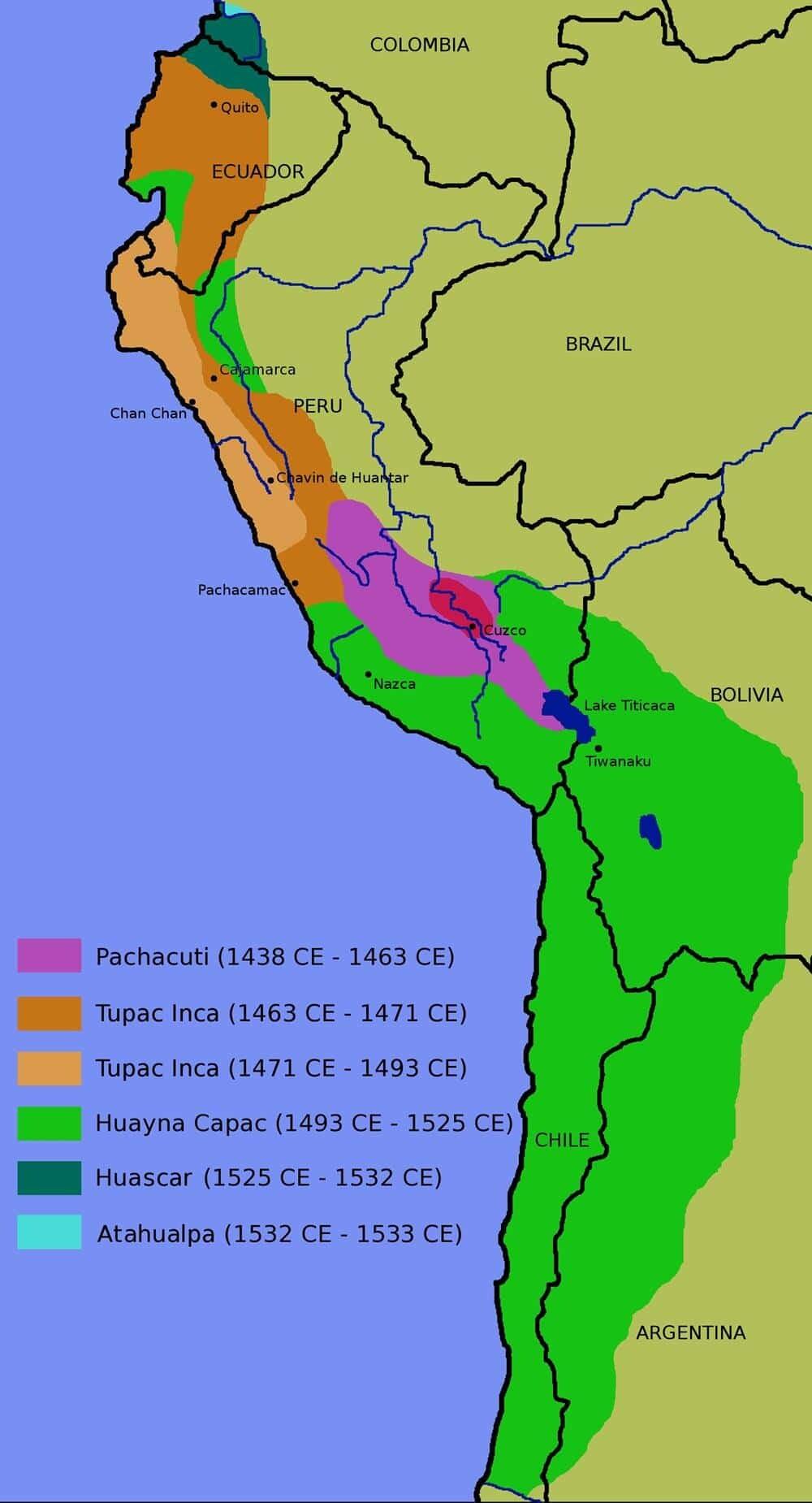 Teritoriul incaș
